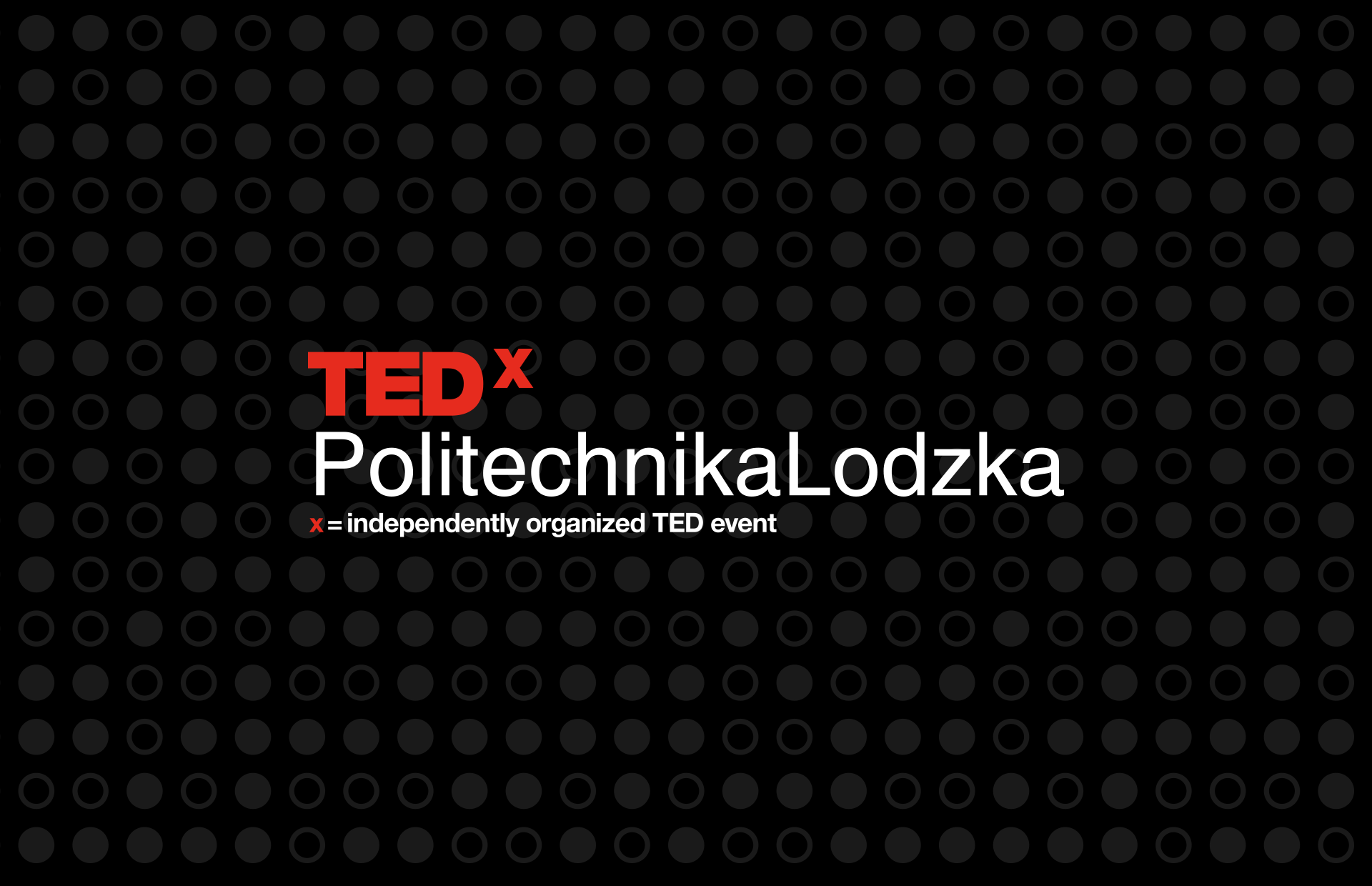 TEDxPolitechnikaLodzka